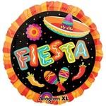 "Foil Balloon - Fiesta Fun - 18"""