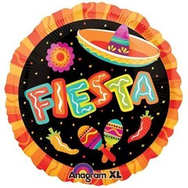 Foil Balloon - Fiesta Fun - 18""