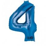 """Foil Balloon - Blue #4 - 24""""x36"""""""