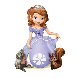 "Foil Balloon - Airwalker - Sofia the First - 37""x48"""