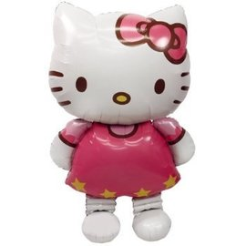 "Foil Balloon - Airwalker - Hello Kitty - 30""x50"""