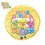 "Foil Balloon - Soft Spots Birthday - 18"""
