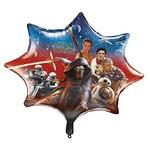 "Foil Balloon - Star Wars The Force Awakens - 28"""