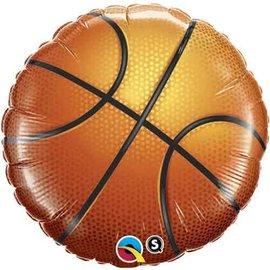 "Foil Balloon - Basketball - 18"""