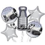 Foil Balloon Bouquet - NHL - 5 Balloons - 2.4ft