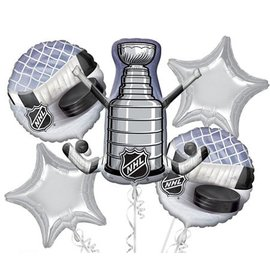 Foil Balloon Bouquet - NHL - 5 Balloons - 2.4ft