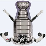 """Foil Balloon - NHL Stanley Cup - 29""""x28"""""""