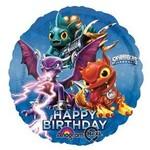 "Foil Balloon - Skylanders Happy Birthday - 18"""