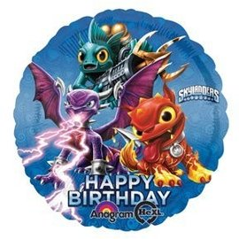 Foil Balloon - Skylanders Happy Birthday - 18""