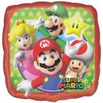 """Foil Balloon - Super Mario - 18"""""""