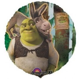 Foil Balloon - Shrek Forever After - 18""