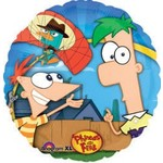 """Foil Balloon - Phineas and Ferb - 18"""""""
