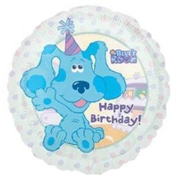 Foil Balloon - Blue's Clue's Birthday - 18""