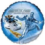 "Foil Balloon - Fantastic Four Silver Surfer - 18"""