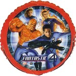 "Foil Balloon - Fantastic 4 - 18"""