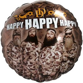 Foil Balloon - Duck Dynasty Birthday - 18""