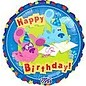 "Foil Balloon - Blue's Clues Happy Birthday - 18"""