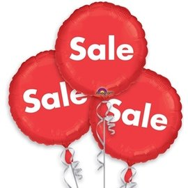 Foil Balloons - Red Sale - 18""