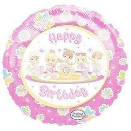"Foil Balloon - Precious Moments Happy Birthday - 18"""