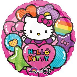 Foil Balloon - Hello Kitty Rainbow - 18""