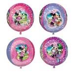 "Foil Balloon Orbz - Minnie Mouse - 15""x16"""