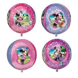 "Foil Balloon Orbz - Minnie Mouse - 15""x16"""