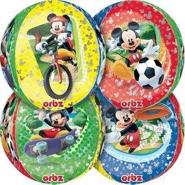 "Foil Balloon Orbz - Mickey Mouse - 15""x16"""