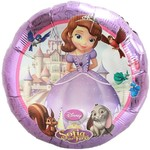 "Foil Balloon - Sofia the First - 18"""