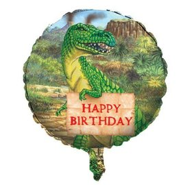 Foil Balloon - Diggin for Dinos Happy Birthday - 18""