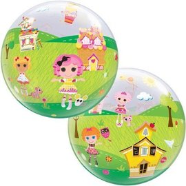 Plastic Bubble Balloon-Lalaloopsy-1pkg-22""