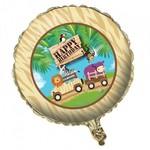 """Foil Balloon - Safari Adventure Happy Birthday - 18"""""""