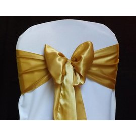 Renta-Chair Sash-Satin Gold-1Day