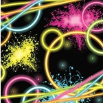 Napkins-LN-Glow Party-16pk-2ply - Discontinued