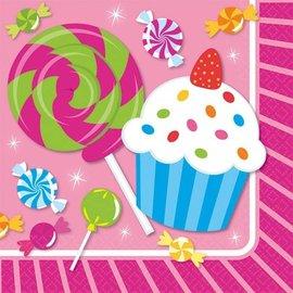 Napkins-BEV-Sweet Shop-16pkg-2ply- Final Sale