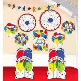 Decorating Kit-Balloon Bash Happy Birthday-10pcs