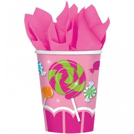Paper Cups-Sweet Shop-8pkg-9oz- Final Sale