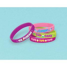 Party Favors-Sweet Shop Bracelets-4pkg