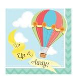 Napkins-BEV-Up, Up & Away-16pk-2ply- Final Sale