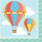 Luncheon Napkins-Up, Up & Away-16pk-2ply- Final Sale
