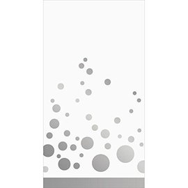 Napkins-Guest Towel-Sparkle Shine Silver-16pk-2ply - Discontinued