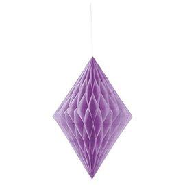 Hanging Decoration- Purple Honeycomb