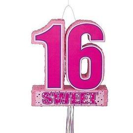"Pinata-Sweet 16-1pkg-20.75""x18"""