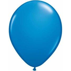 "Latex Balloon-Dark Blue-1pkg-11"""