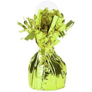 """Balloon Weight-Foil-Lime Green-1pkg-4.5""""x2.25"""""""