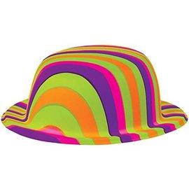 Hat-60's Groovy-Plastic