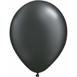 Latex Balloon-Pearl Onyx Black-1pkg-11""