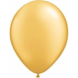 Latex Balloon-Metallic Gold-1pkg-11""