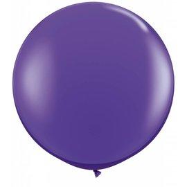 "Latex Balloon-Purple Violet-1pkg-36"""