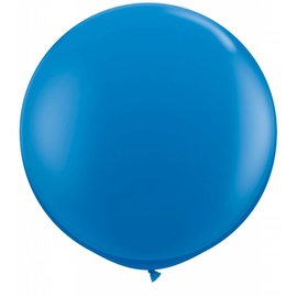 "Latex Balloon-Dark Blue-1pkg-36"""