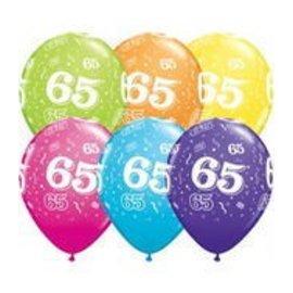 "Latex Balloon-65 A Round Assortment-1pkg-11"""